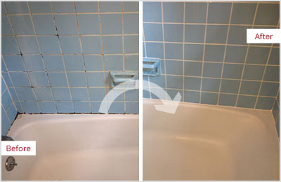 How To Caulk A Bathroom Residential Caulking  Sir Grout Washington Dc Metro