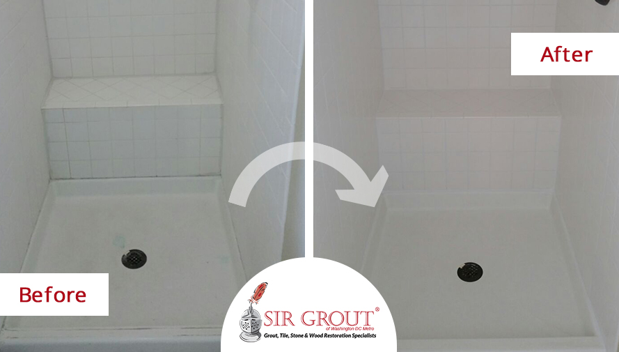This Alexandria Resident Chose Grout Restoration Over