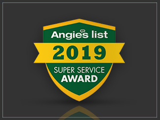 Angie's List Super Service Award 2019 for Sir Grout Washington DC Metro